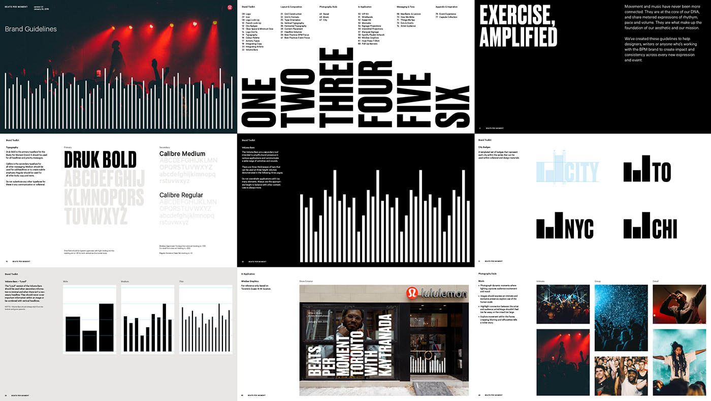 design visual identity branding  Fashion  Packaging print music exercise fitness