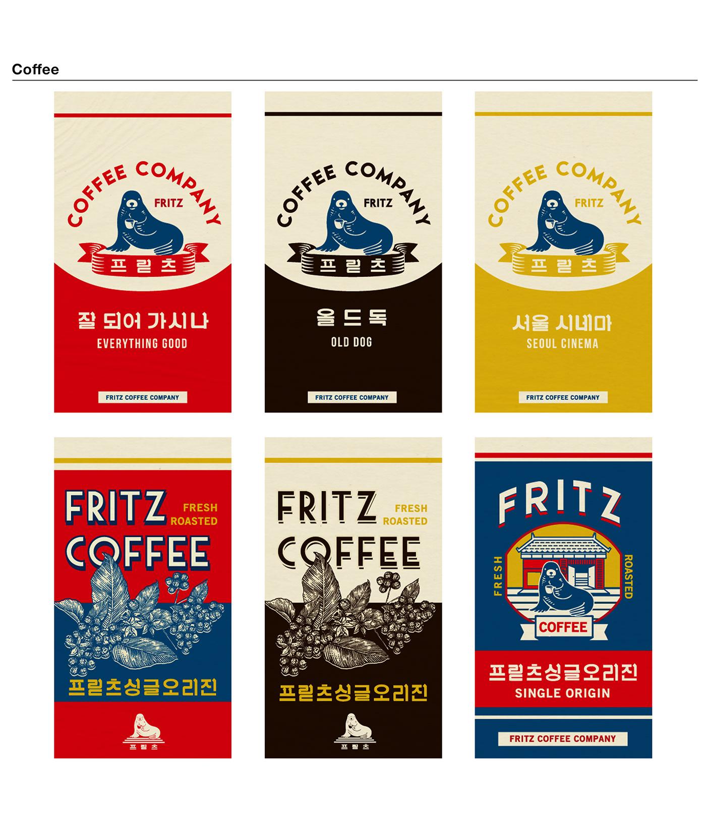 Fritz Coffee Company Branding Part1 On Behance
