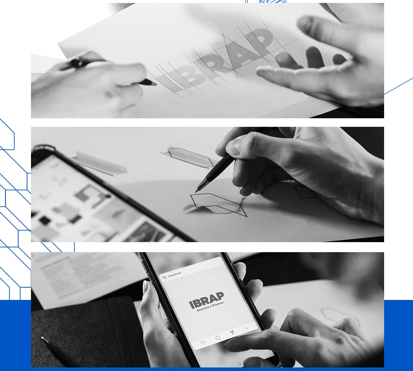 architecture branding  design emporia branding Engineering  ibrap interior design  logo rebranding