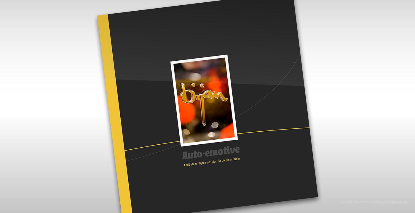 minimal editorial brandbook