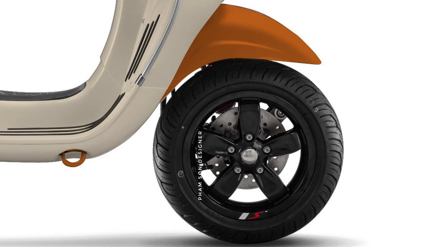 pham son designer phối màu vespa sơn vespa Thiết kế vespa thiết kế vespa sprint vespa sprint design