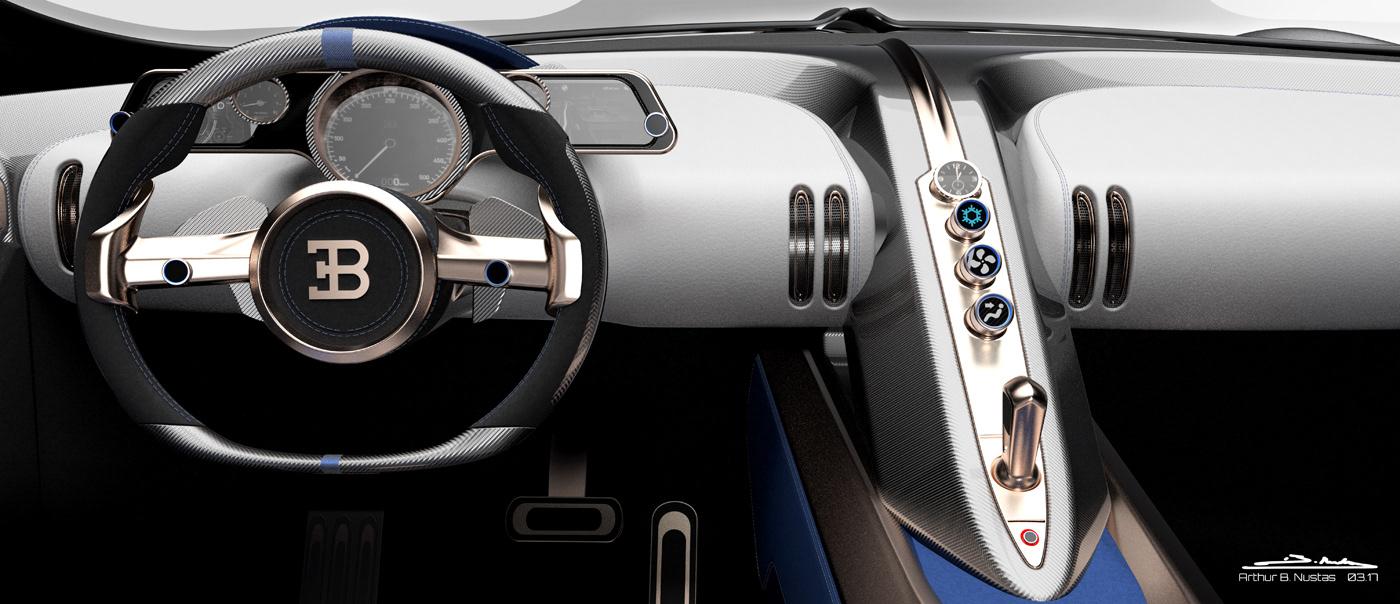 bugatti coupe concept type57 super sport