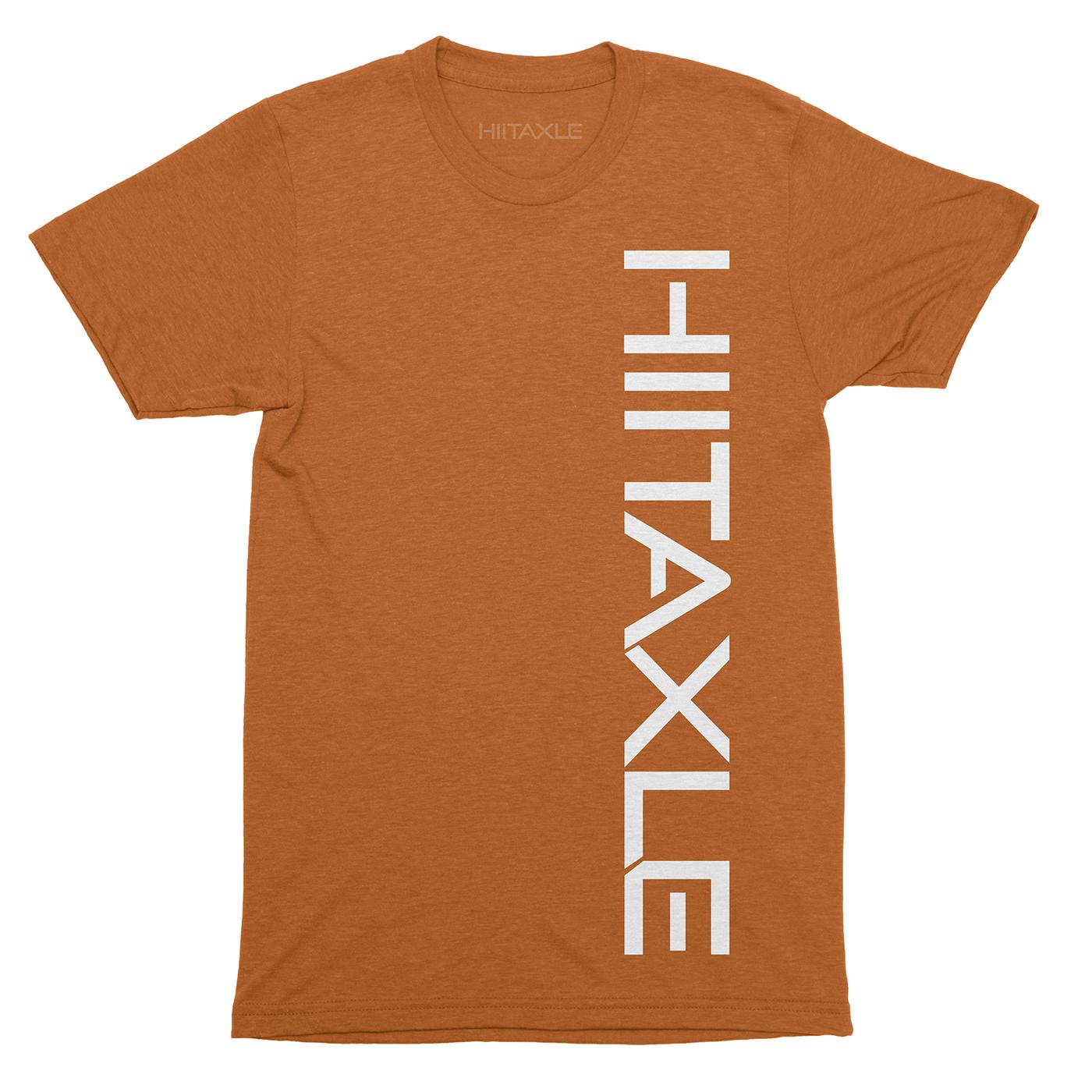 HIITAXLE Logo Tshirt in Orange