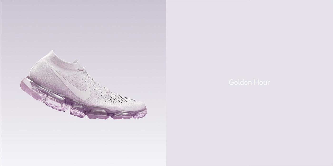 Nike cinema4d vray airmax ncloth graphic minimal Performance cloth simulation