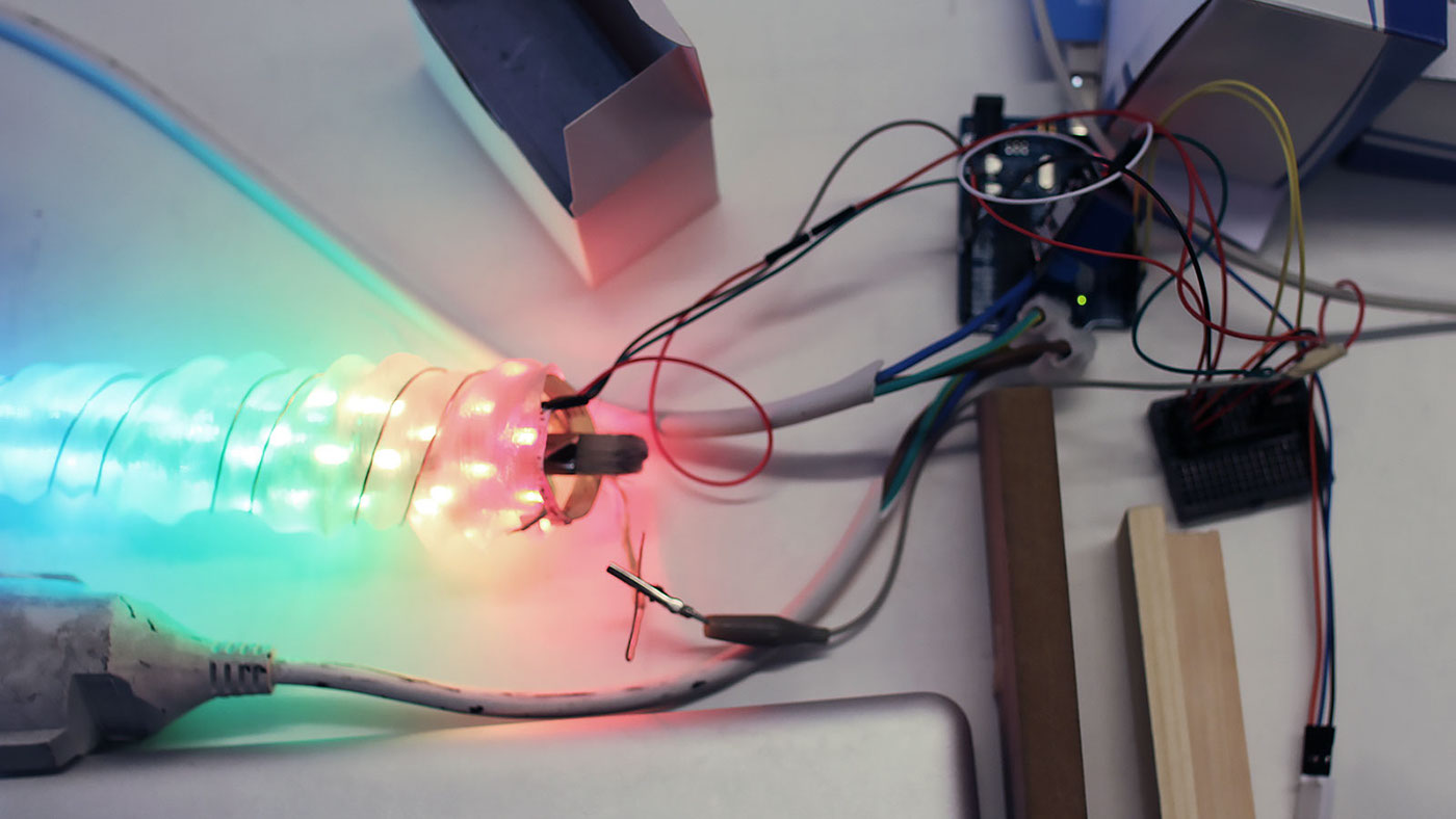 Crystal Beth Installation On Behance Electrical Wiring The Unicorn Gumball Arcade Machine
