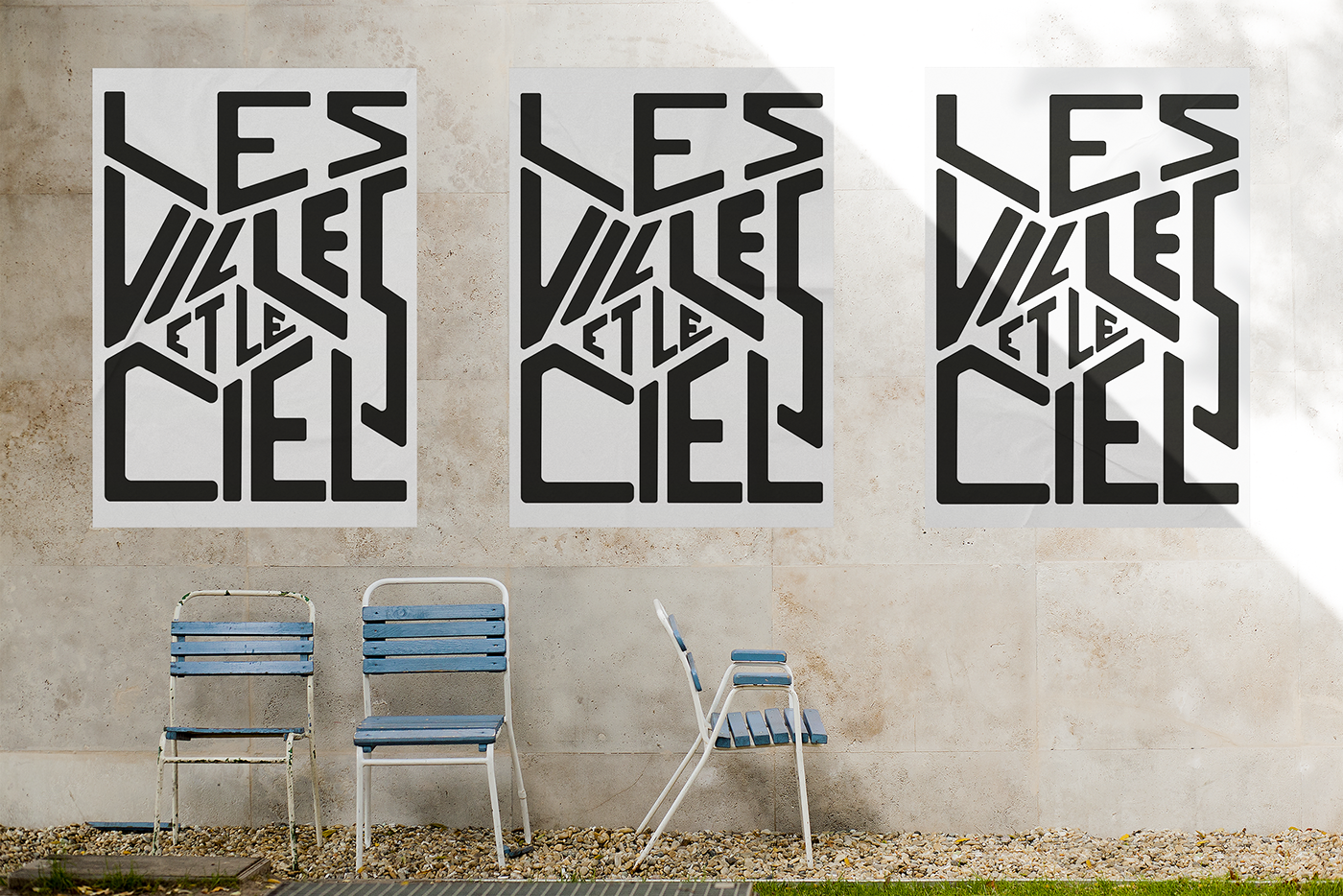 typography   poster Street city Interpretation