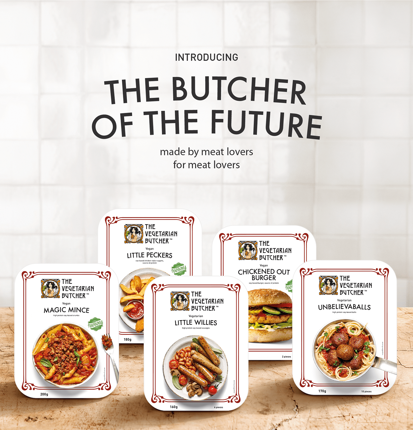 The Vegetarian Butcher - Packaging Redesign on Behance