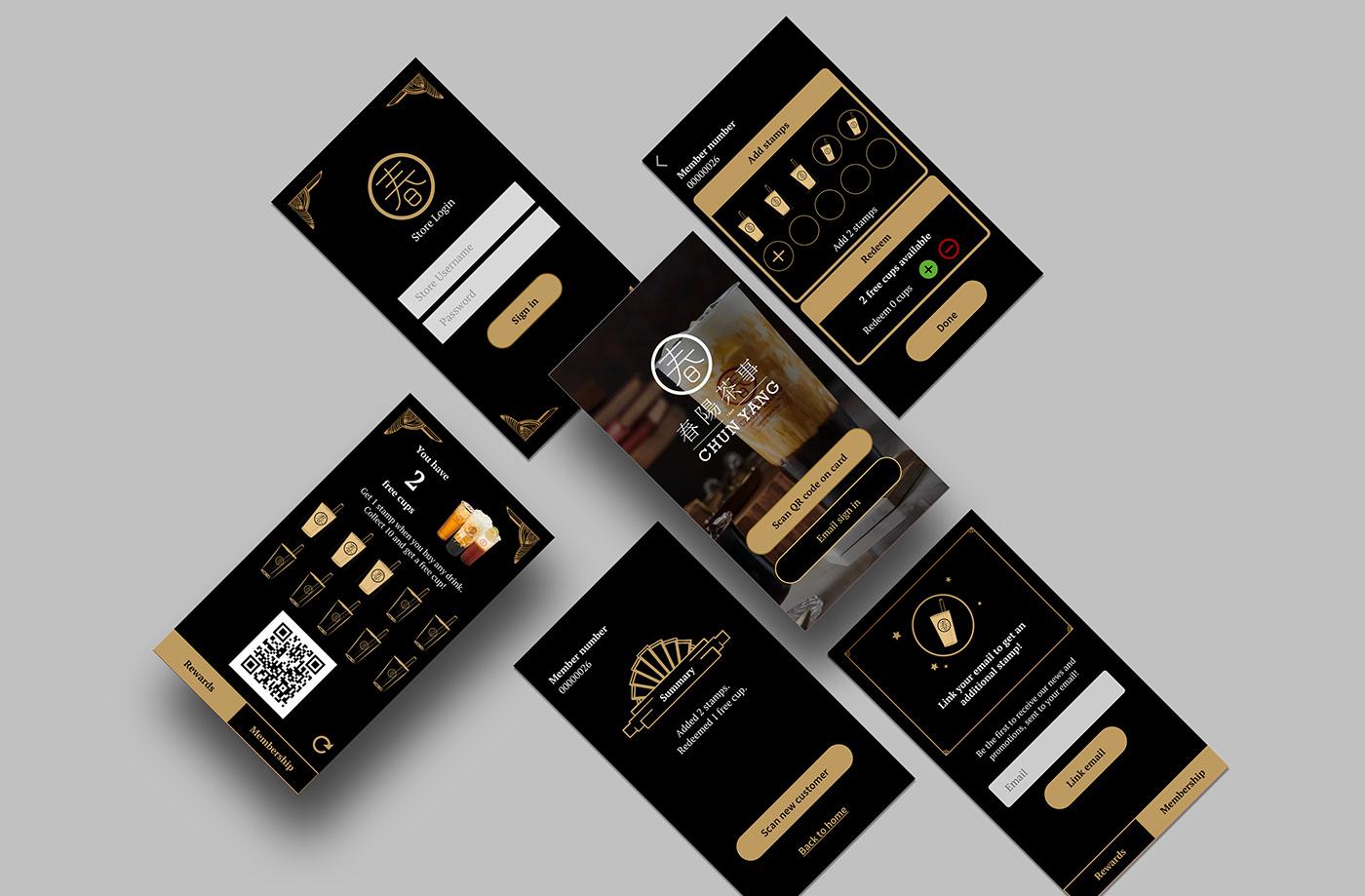 app design development instagram marketing   rewards animation