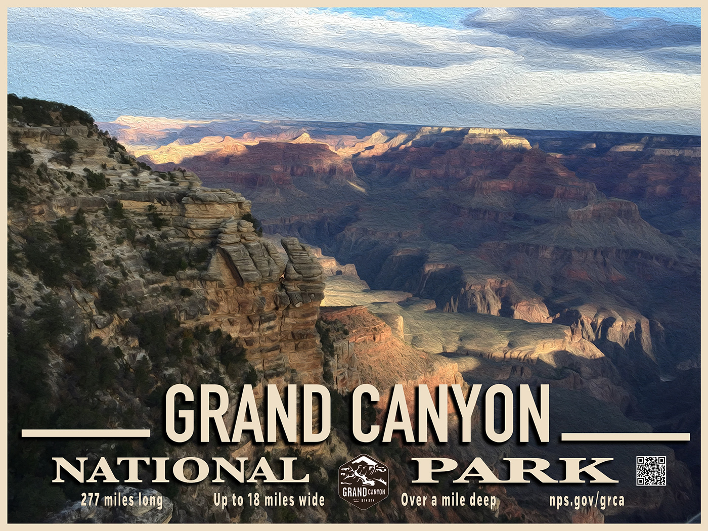 Grand Canyon Posters on Behance