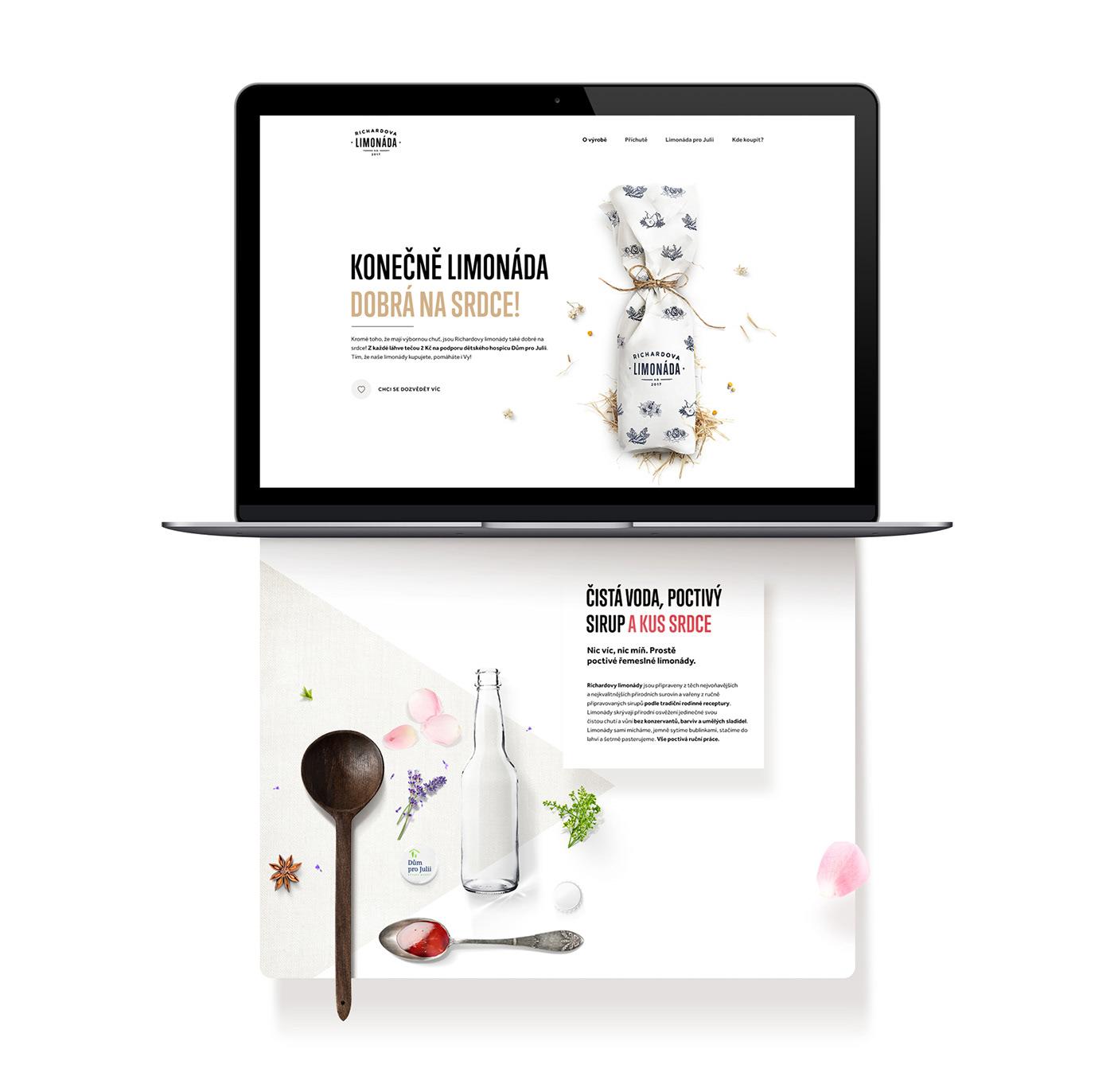 branding  logo package bottle identity Web Design  handmade poster visual drink