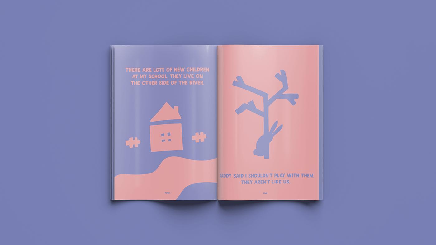 ILLUSTRATION  graphic design  children's book editorial Character design