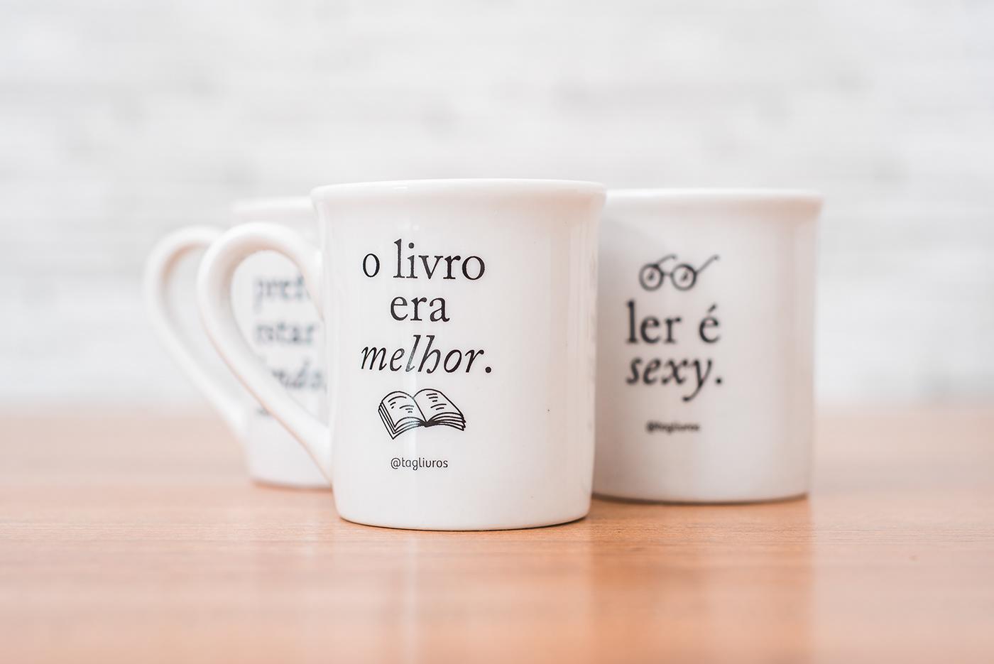 amo livros book lover book worm caneca LIVROS Mugs tag livros