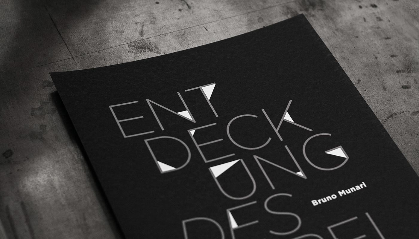 typography   book cover triangle black and white Minimalism