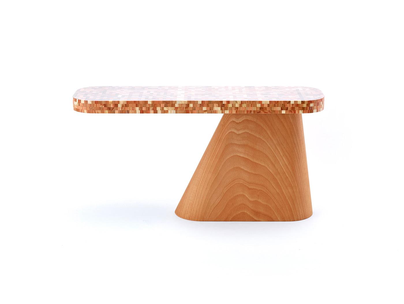 Color Design concept deveropment furniture industrial design  material design milanosalone satellite product design  protptyping Usability wood