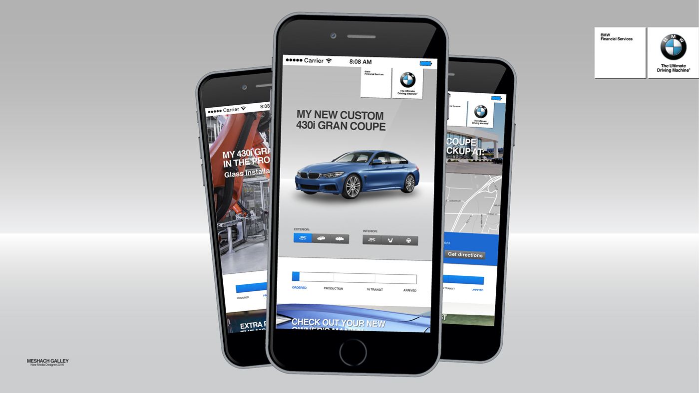 BMW Financial Services App on Behance