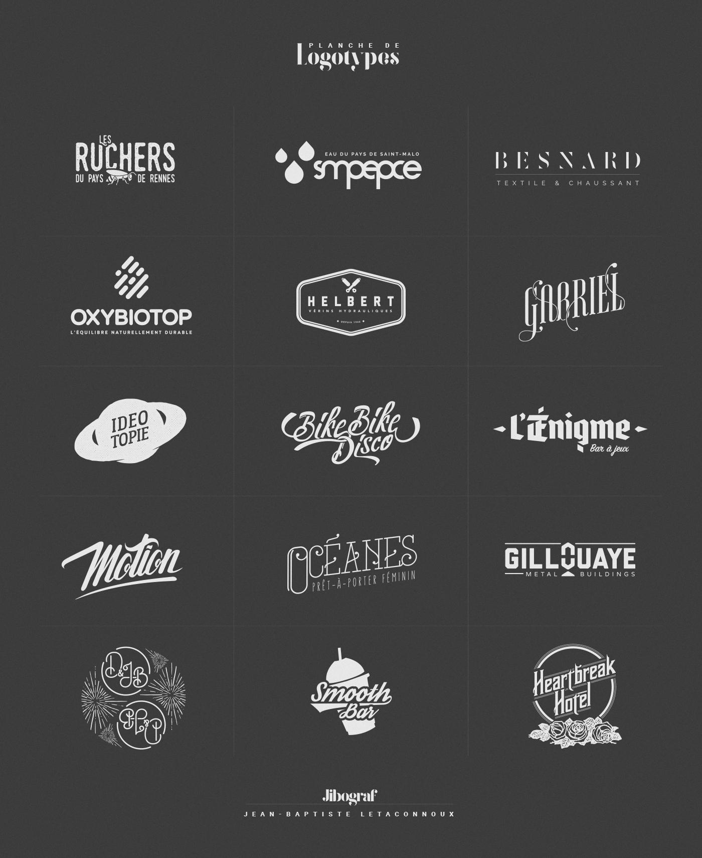 logo Logotype monochrome identité visuelle Visuel identity logodesign design