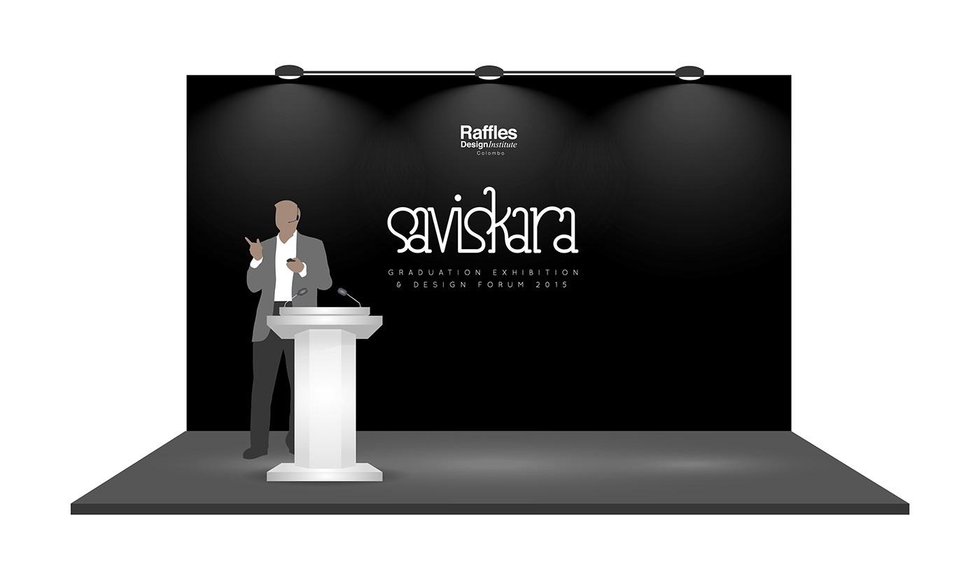 Exhibition  design forum Saviskara Zam Faiz branding