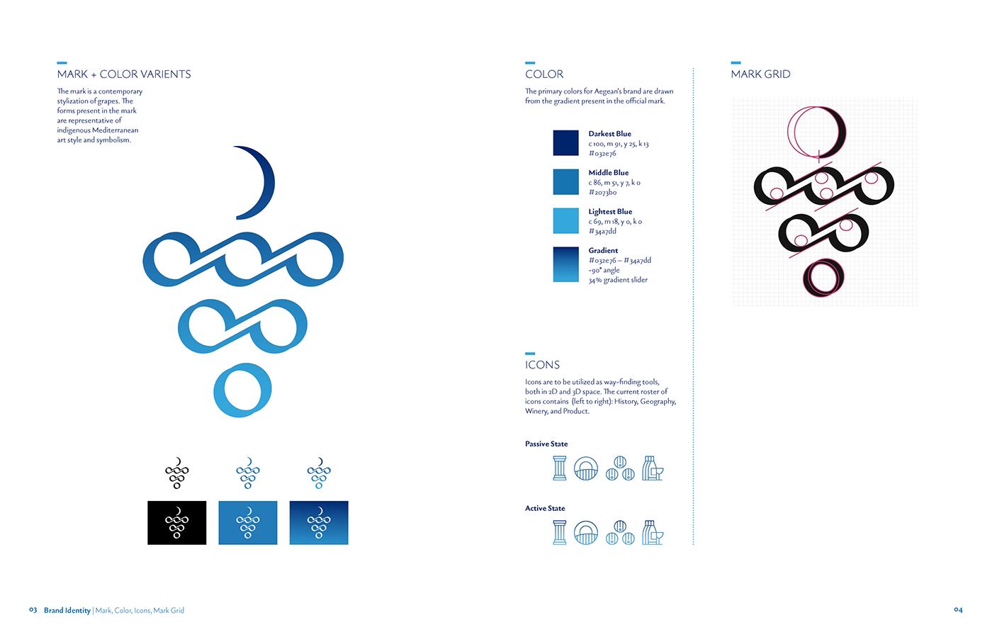 applications Brand Design brand identity Brand System Identity Design Logo Design Stationary design winery