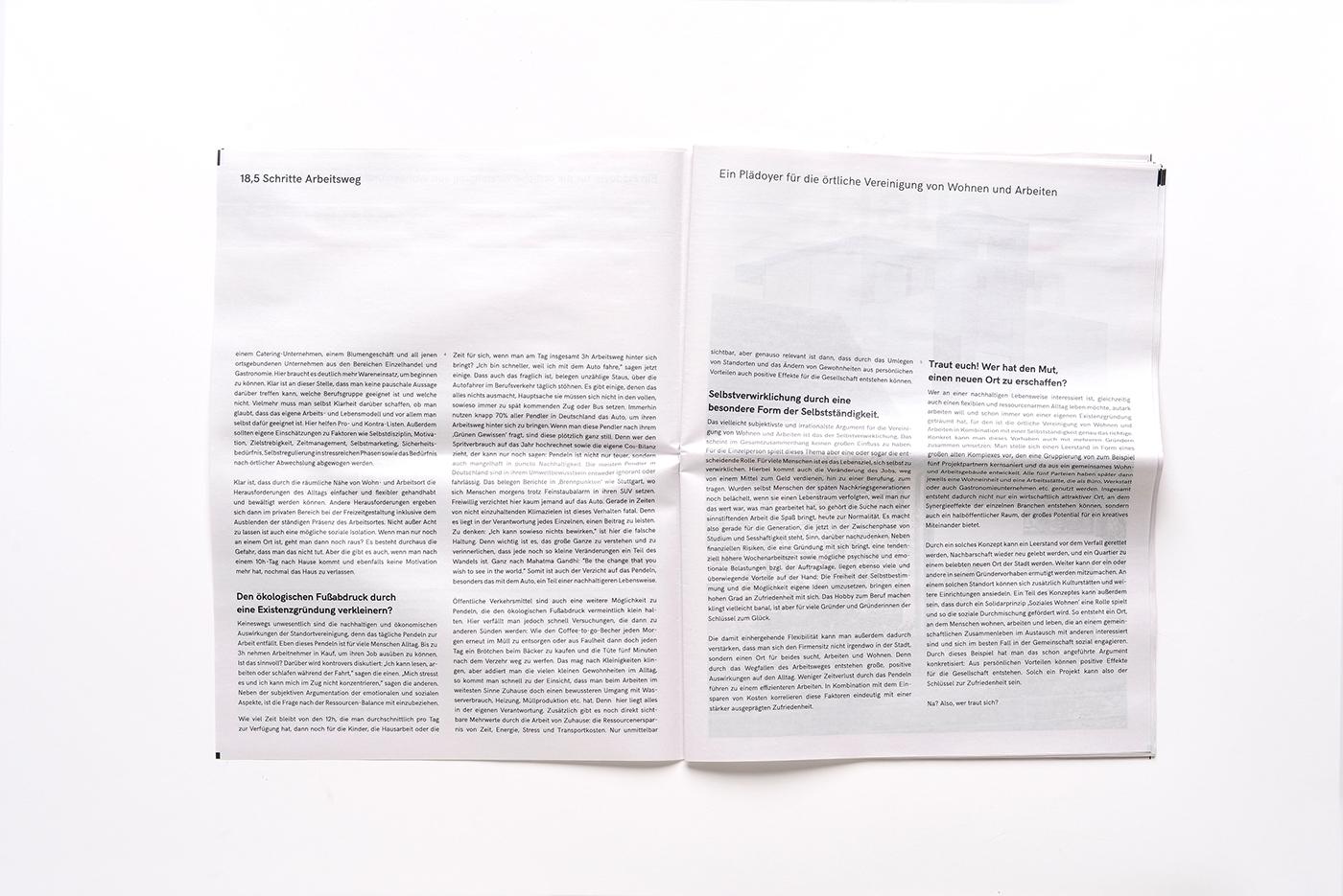 hier und hier – Newspaper on Behance