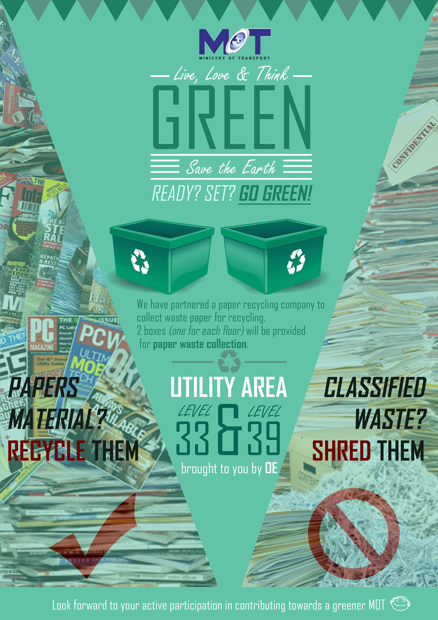 Recycling Posters On Behance