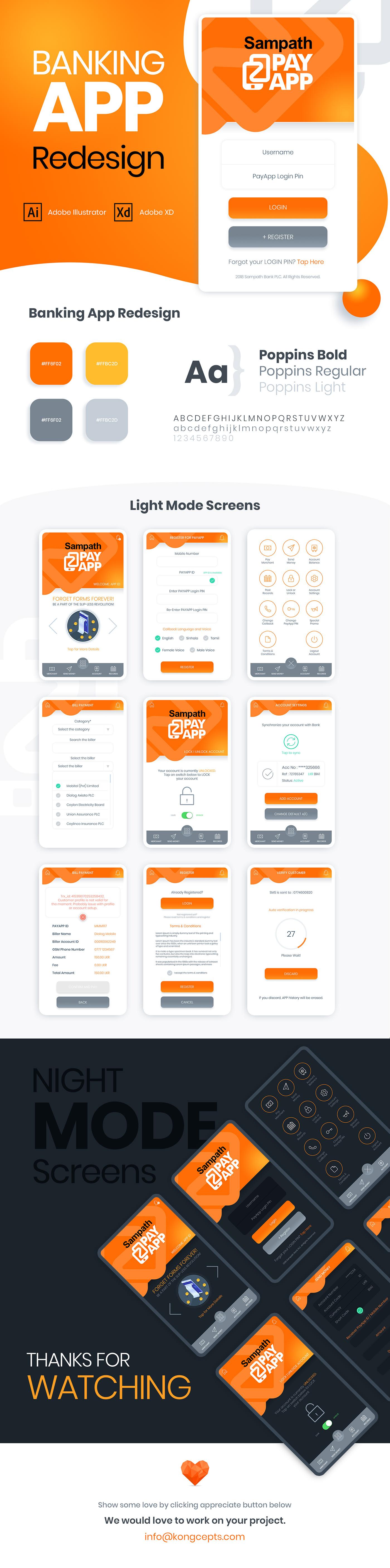 financial app banking app bank app  financial orange iOS App mobile app design Ecommerce Bank