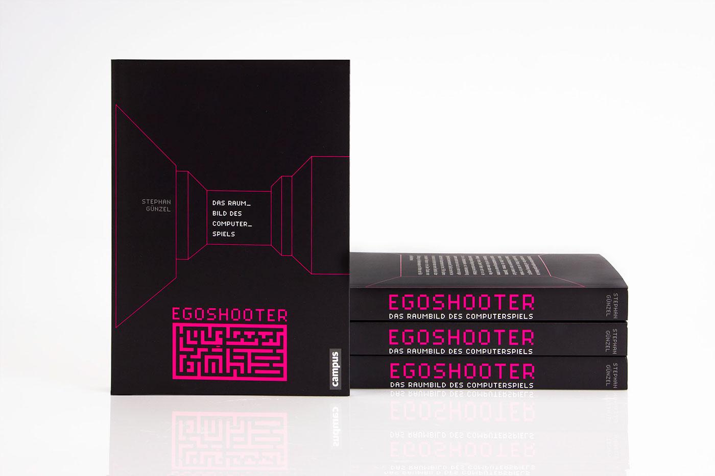 Egoshooter — Das Raumbild des Computerspiels on Behance