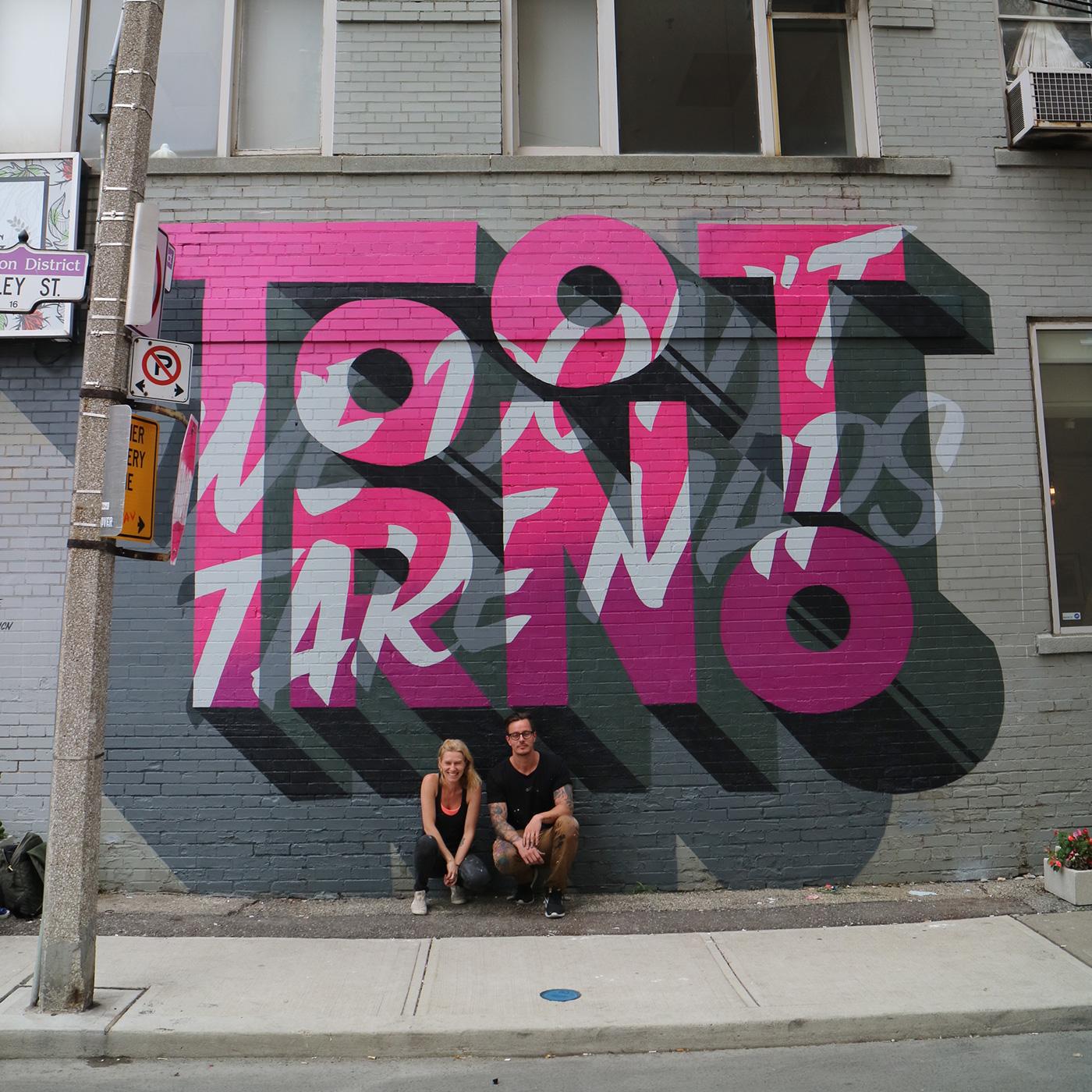 Toronto mural on behance