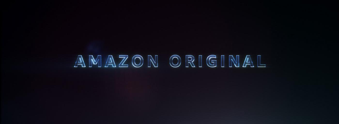 Amazon intro lens light logo Main title Original particle reveal trace