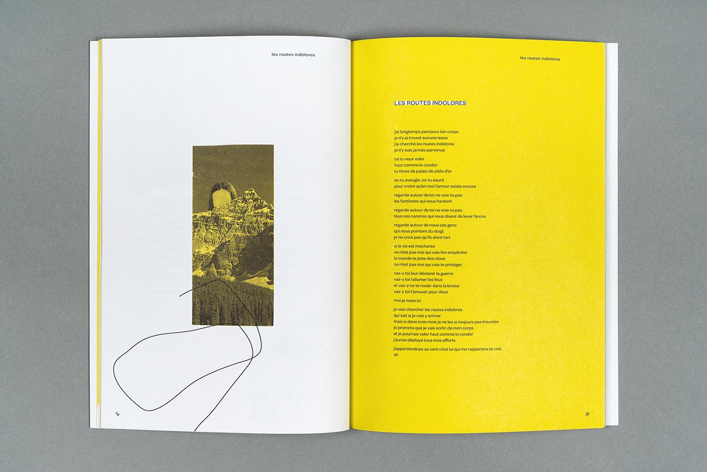 Album,vinyle,music,Montreal,albumart,Zine ,Booklet,book,yellow,collage
