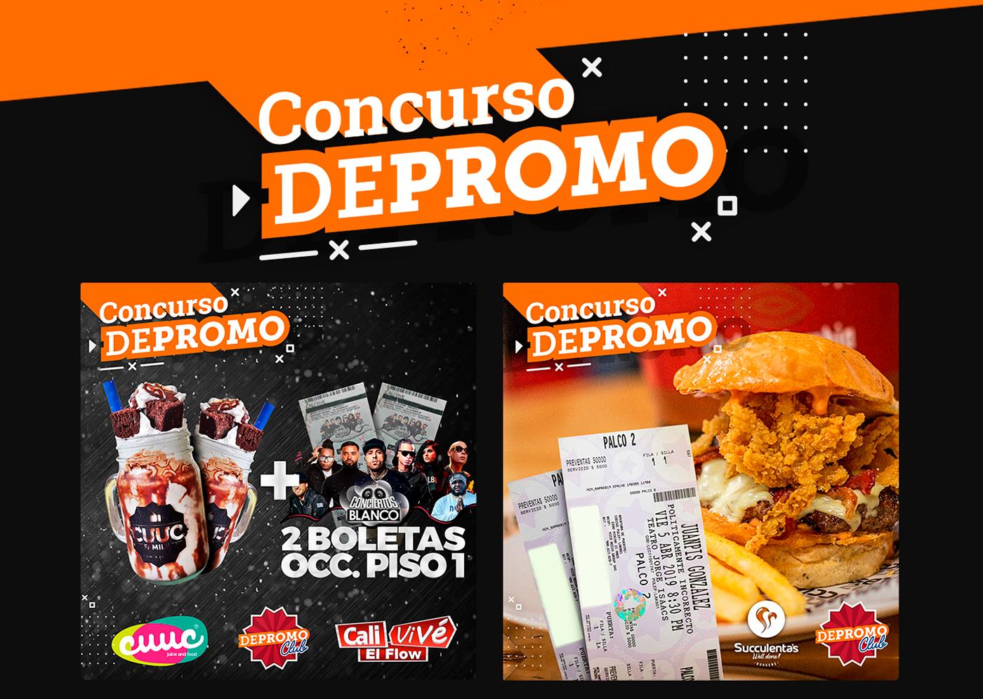 depromo club jorge delacruz flow studio comida bebidas Promociones social network