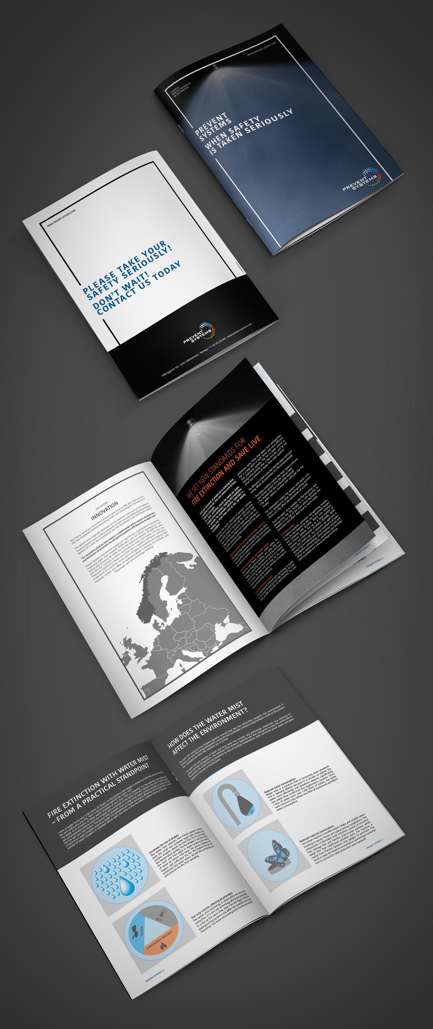brochure grafisk design grafik