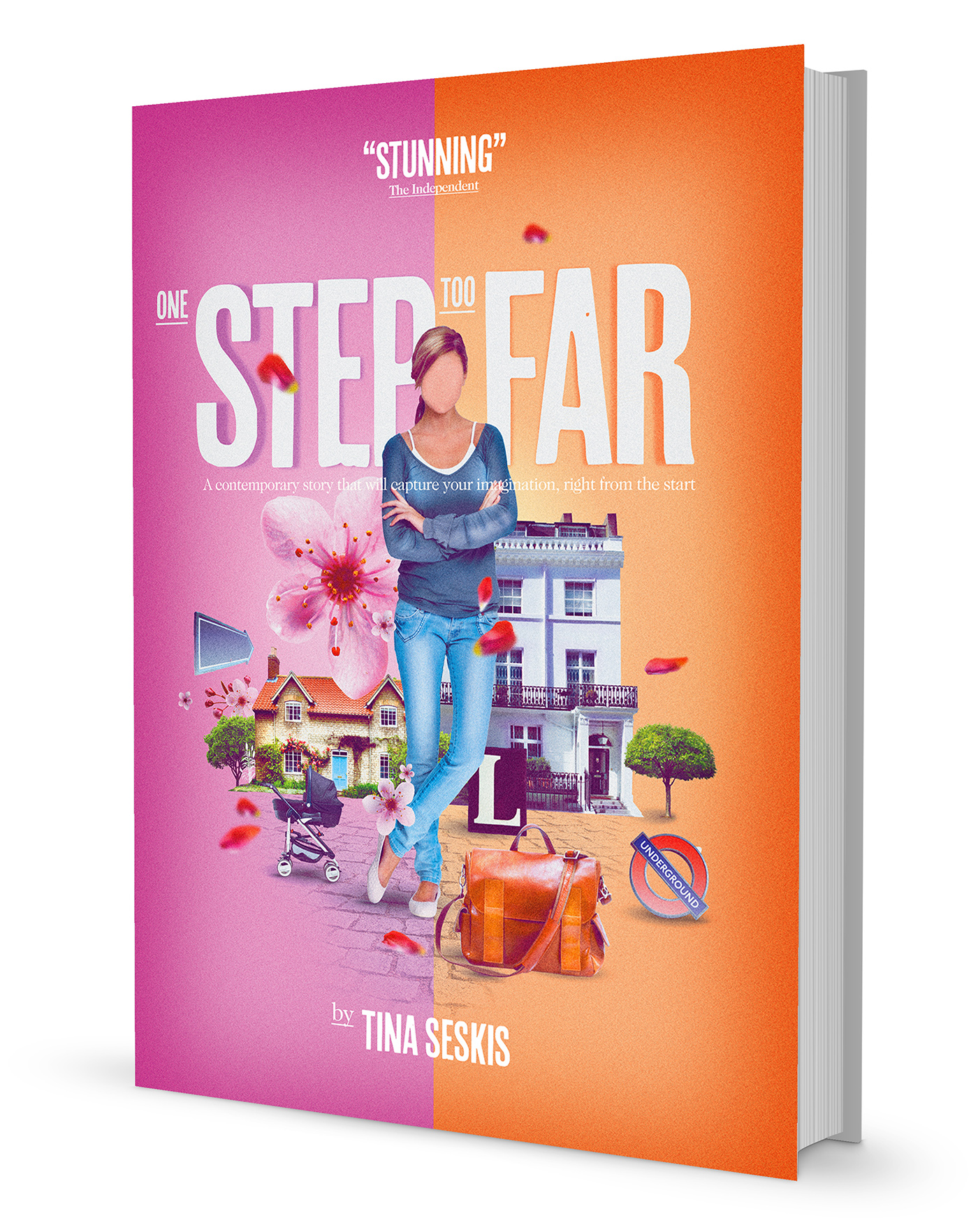 Book Cover Design Jobs London ~ One step too far book cover on behance