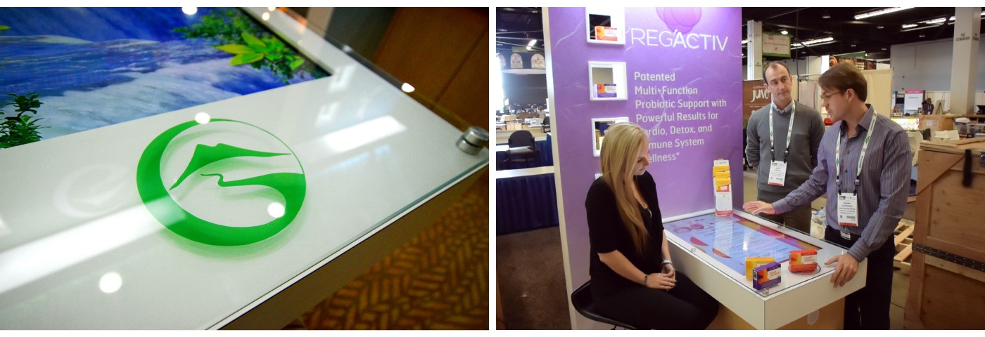 rfid product Display Trade Show marketing   interactive activation Live Event
