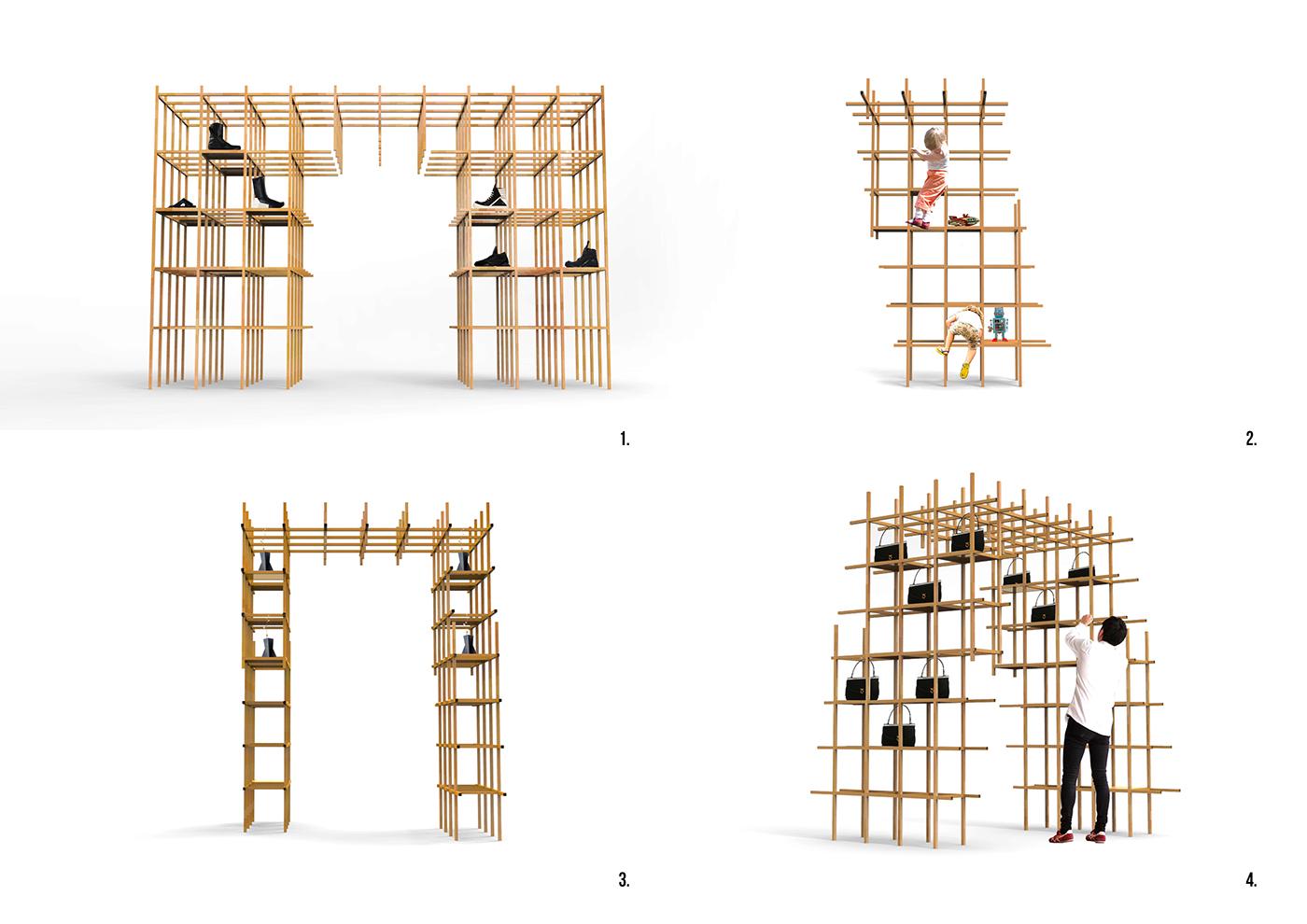 architecture interior design  Interior Architecture Retail