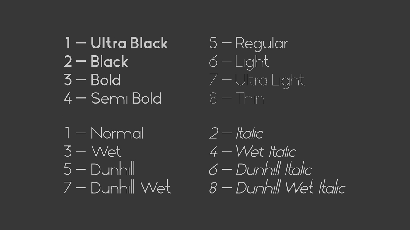 typography   font font family font face type Typeface typo geometric simple design