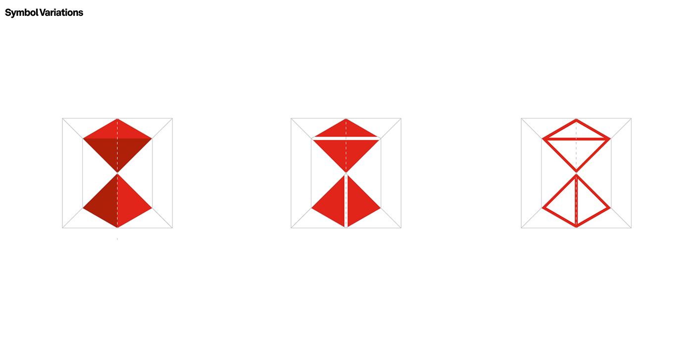 Brava, BRBAUEN, symbol design variations