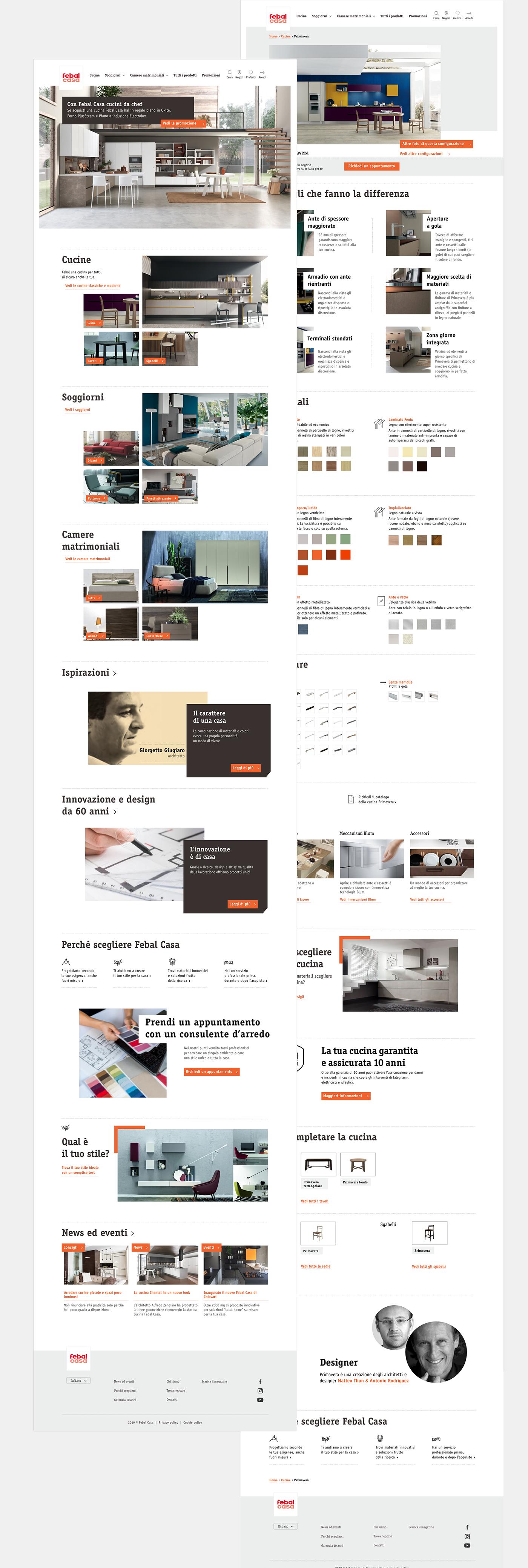 Filippo Maniscalco Rome UI UX design concept design moodboard