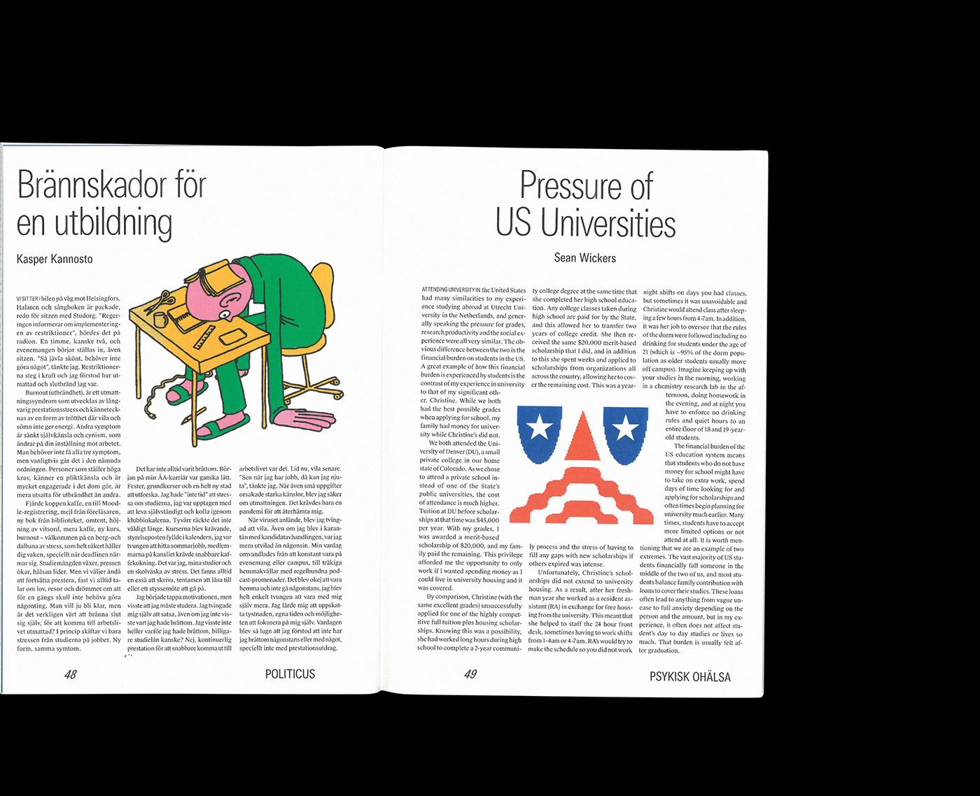 editorial editorialdesign graphicdesign Layout magazine