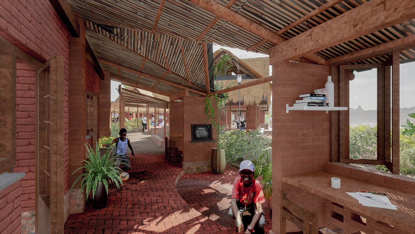 african archstorming bioclimatic design dwelling house low-cost Manyara Sustainability Tanzania