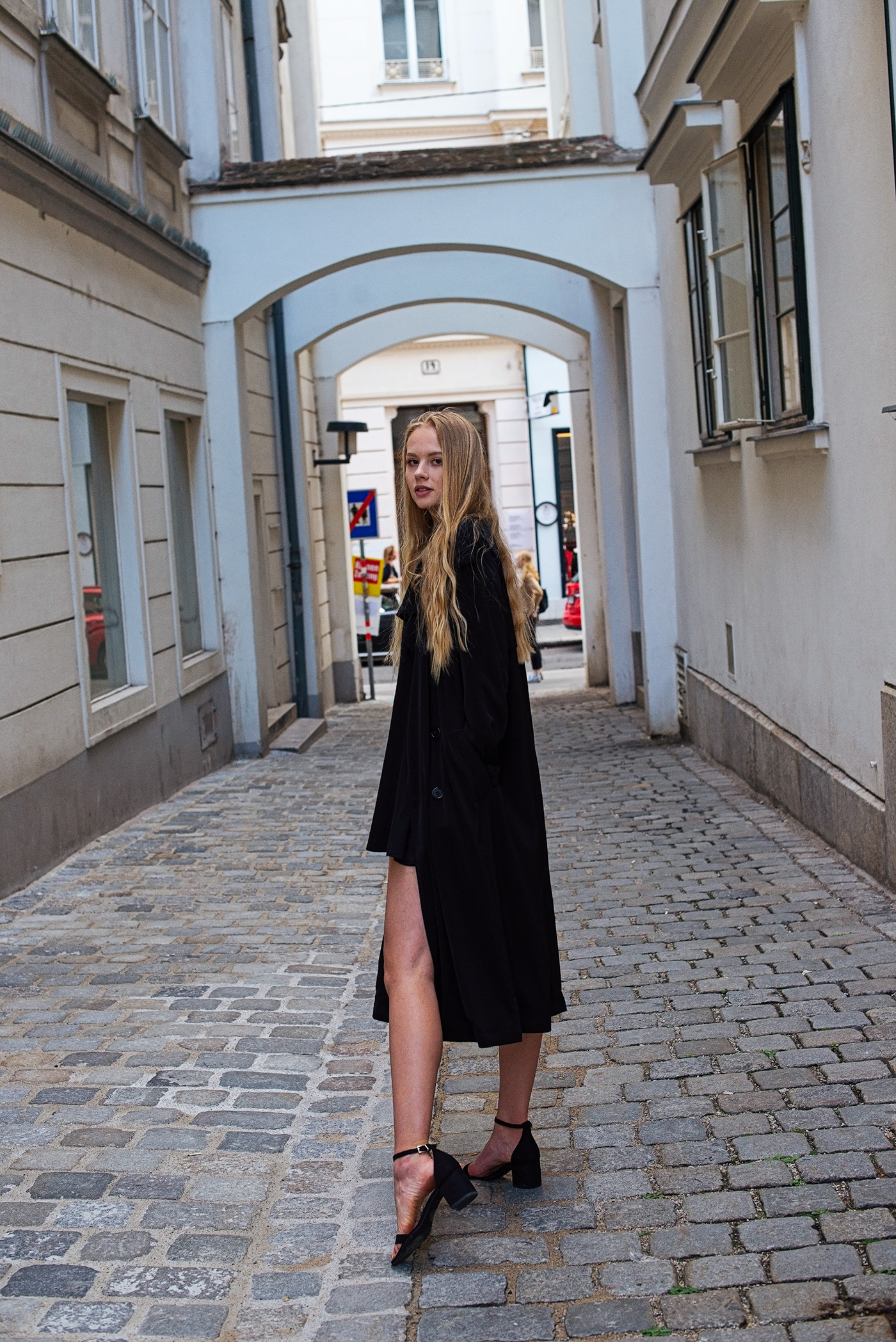 model vienna Model Agency Fashion  portrait Photography  blonde girl