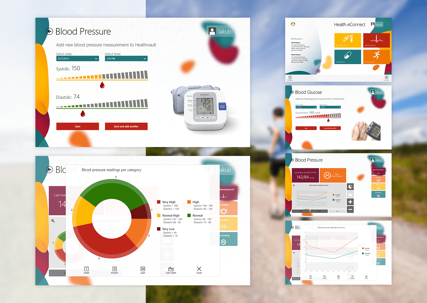 Health medical Microsoft healthvault windows winner application software