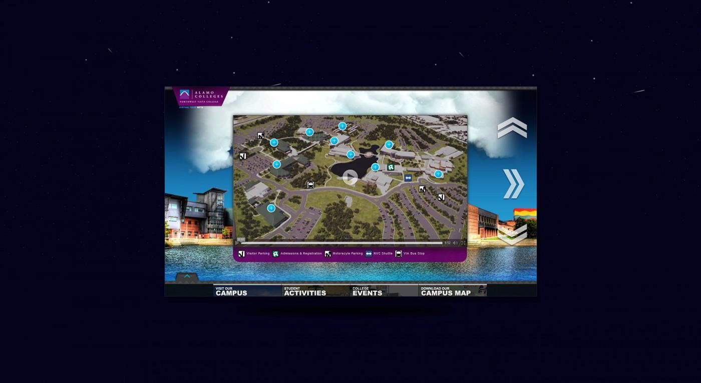 Northwest Vista College - Virtual Tour on Behance