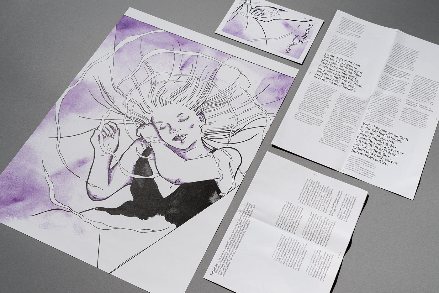 editorial design  ILLUSTRATION  graphicdesign Diversity asexuality transsexuality dwarfism feminism equality Zines