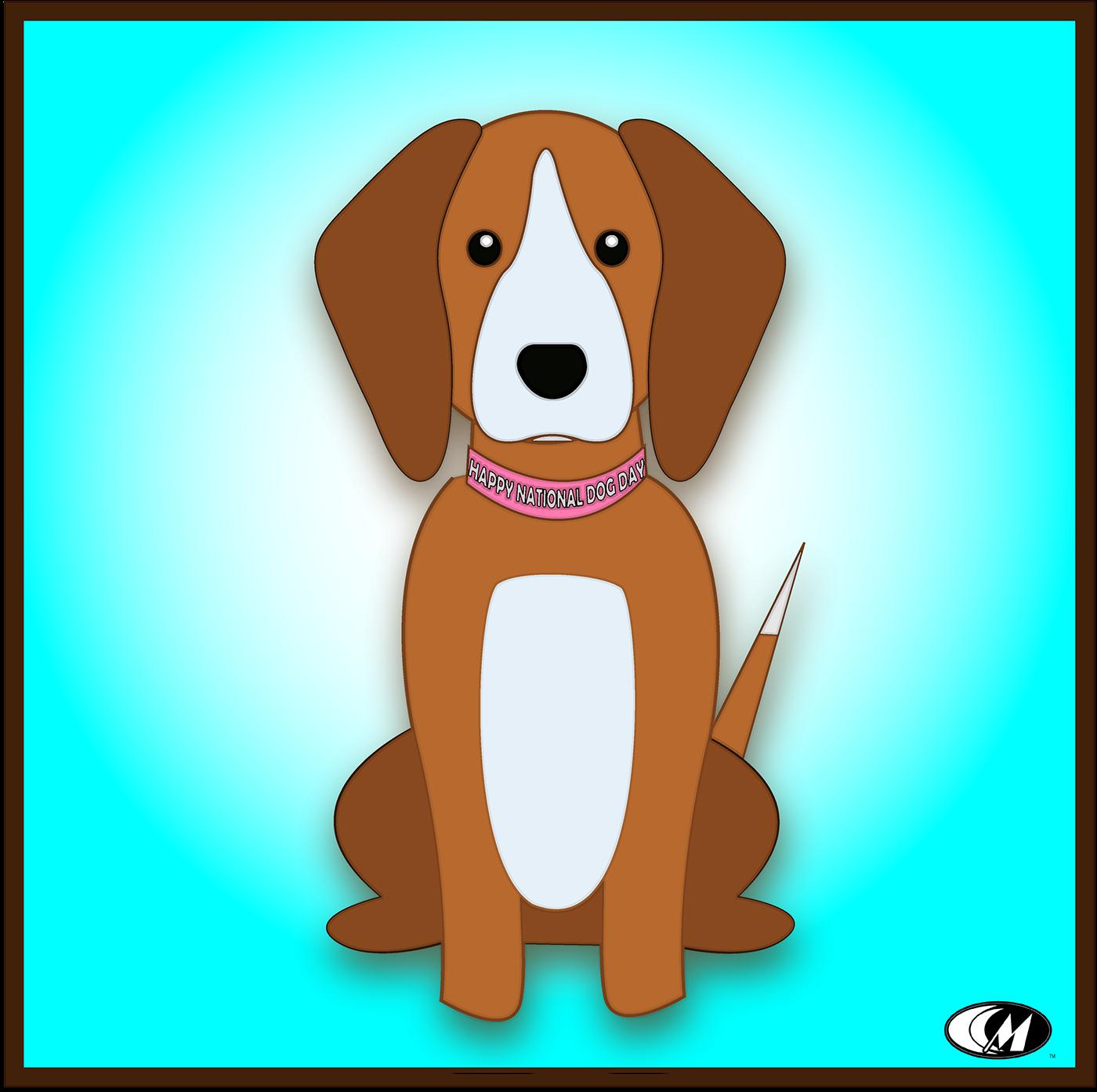 dog Pet cute sketch international dog day dog art