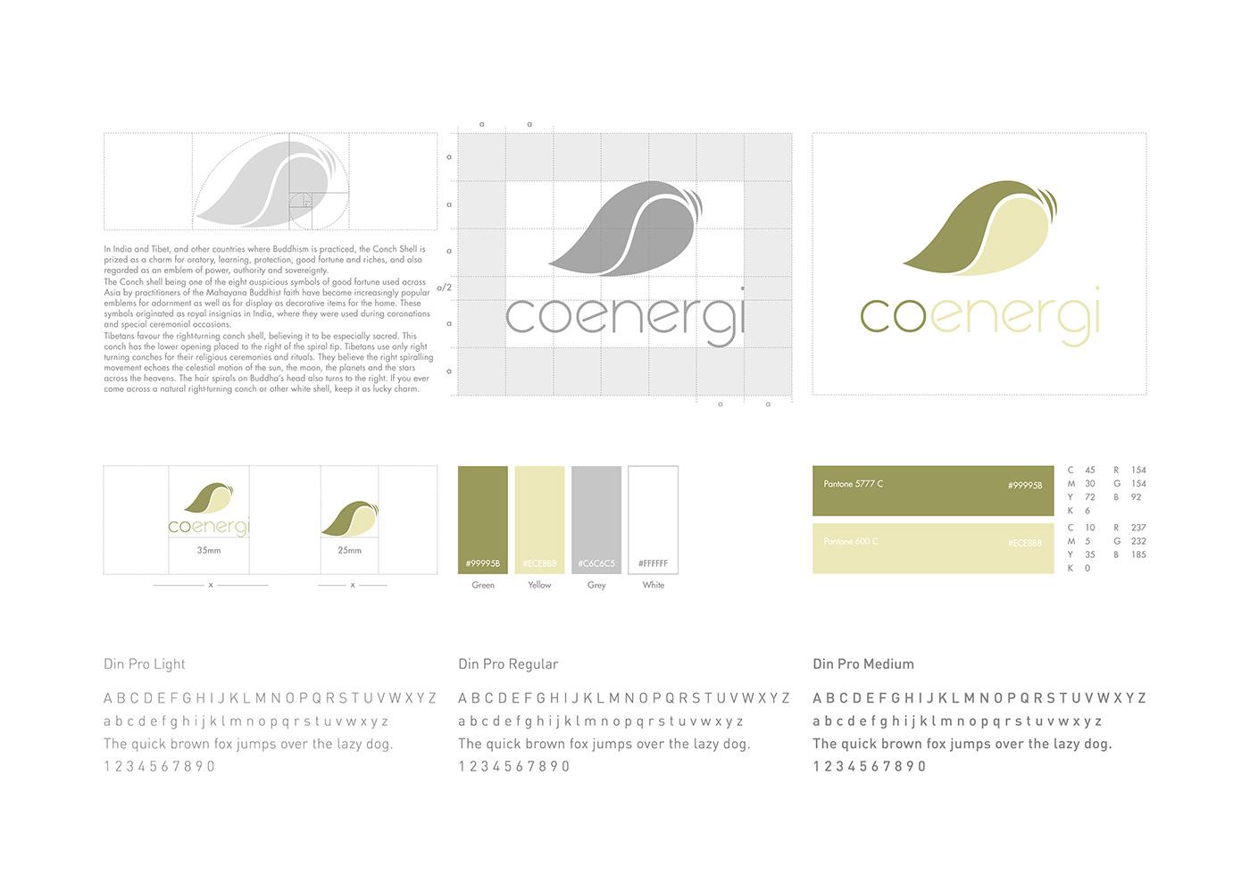 co-energi branding  colombo Sri lanka Graphic Designer coenergi