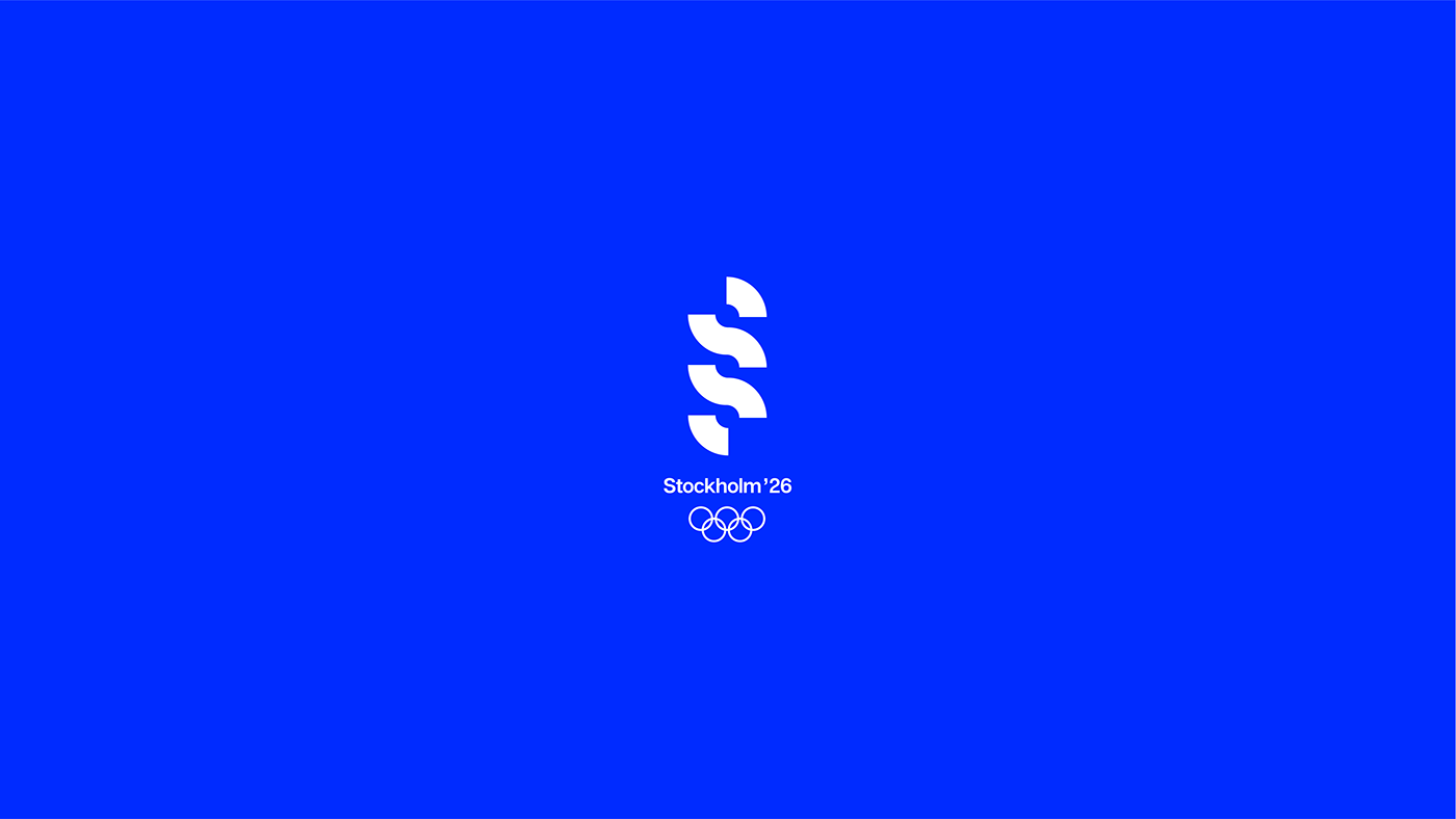 Brand Identity for Stockholm 2026 Olympic Games