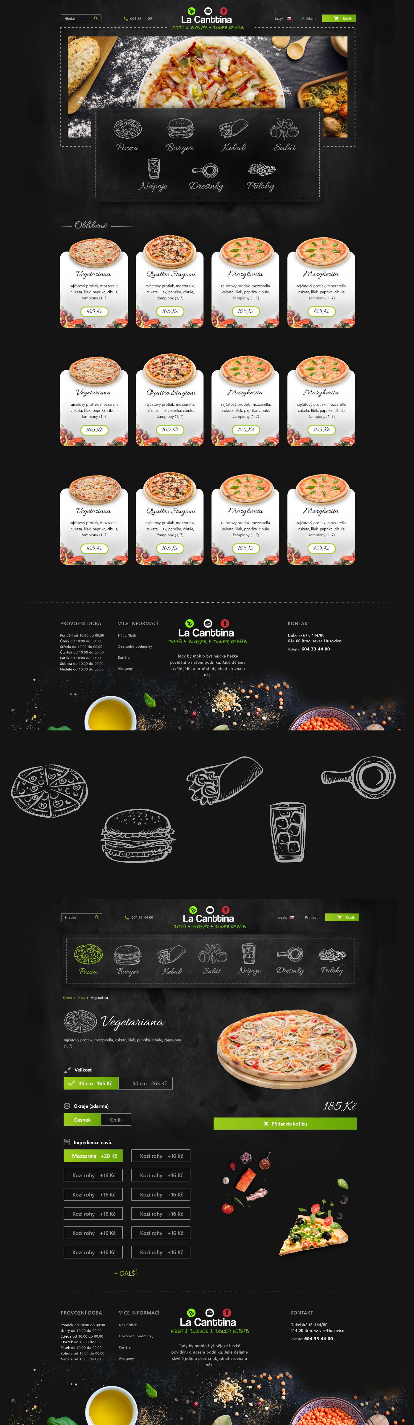 Food  Pizza eat gastronomy restaurant dark black xD ILLUSTRATION  icons