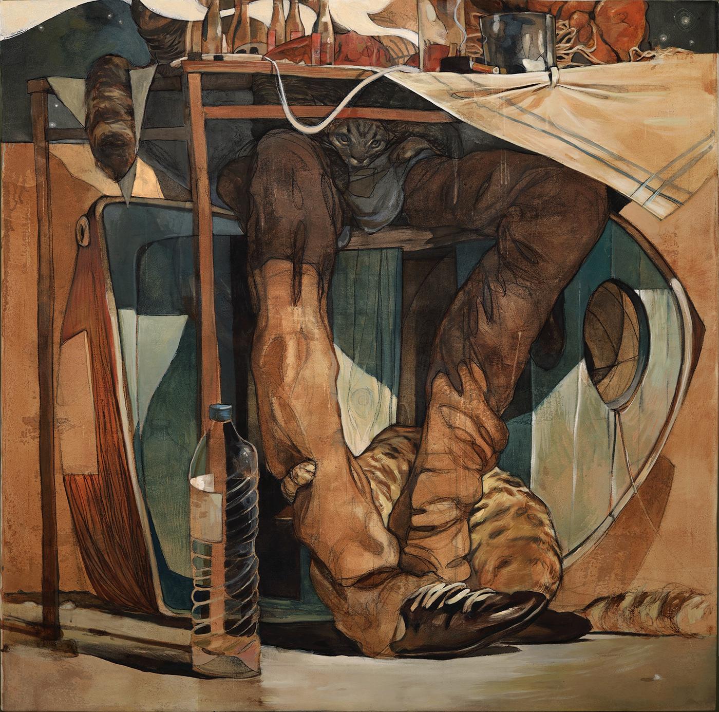 artcollector contemporary art Illustation illustrations jordan Mural Nike Stamatis Laskos Street Art  The New Yorker