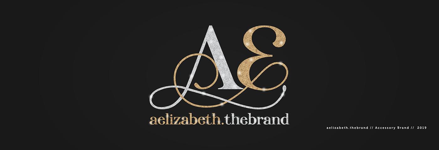 aelizabeth the brand logo design