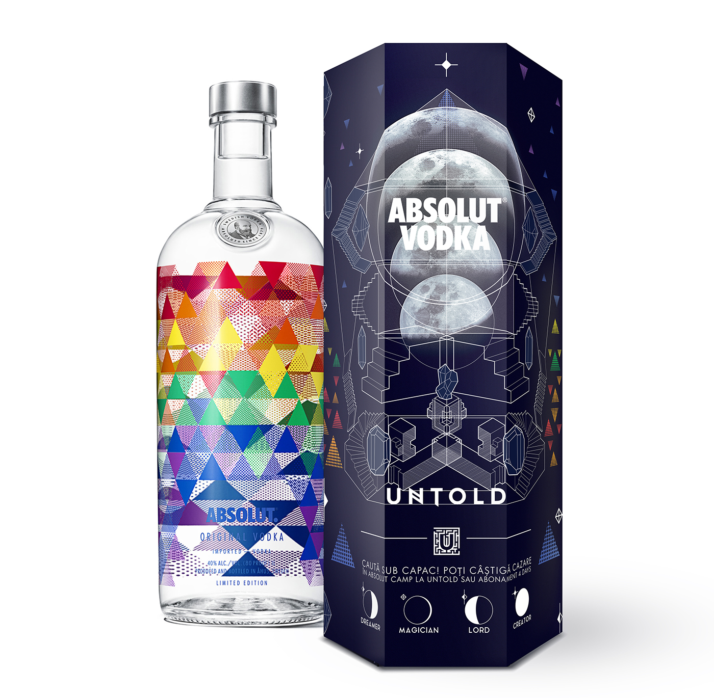Absolut Vodka Packaging on Behance